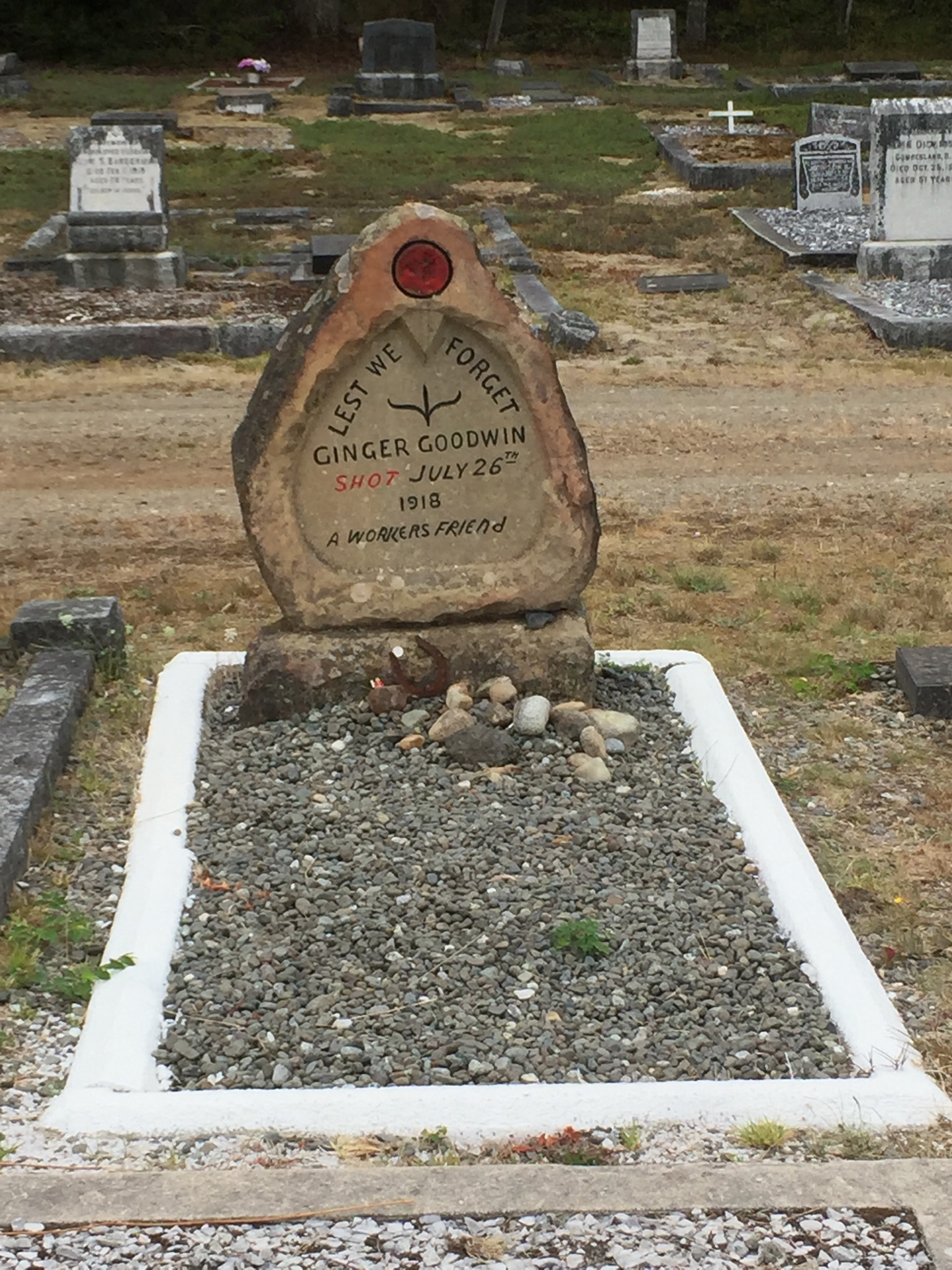 Ginger Goodwin's grave