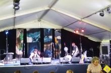 Picture of the black diamond stage Illawarra festival