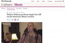 Photo of Winter Wilson from the Telegraph Culture/Music page